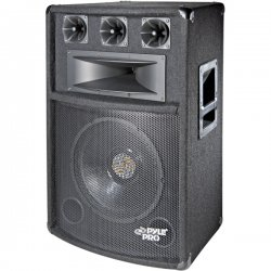 Pyle / Pyle-Pro - PADH-1289 - Pyle PylePro PADH1289 300 W RMS - 600 W PMPO Speaker - 5-way - 1 Pack - Black - 8 Ohm