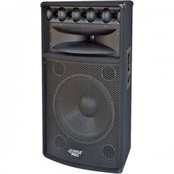 Pyle / Pyle-Pro - PADH1569 - Pyle PylePro PADH1569 500 W RMS - 1000 W PMPO Indoor/Outdoor Speaker - 5-way - Black - 8 Ohm - Floor Standing