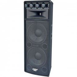 Pyle / Pyle-Pro - PADH212 - Pyle PylePro PADH212 800 W RMS - 1600 W PMPO Indoor/Outdoor Speaker - 7-way - 1 Pack - Black - 8 Ohm - Floor Standing