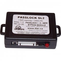 Crime Stopper - PASSLOCKSL2 - 2-Way Data Link with SL Technology - GM Passlock 1/2