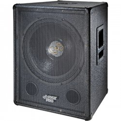 Pyle / Pyle-Pro - PASW18 - Pyle PylePro PASW18 500 W RMS - 1000 W PMPO Indoor Woofer - 1 Pack - Black - 8 Ohm - Stand Mountable