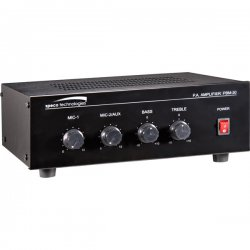 Speco - PBM-30 - Speco PBM-30 Amplifier - 1% THD