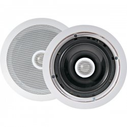 Pyle / Pyle-Pro - PDIC60 - Pyle PDIC60 - 250 W PMPO Indoor Speaker - 2-way - White - 8 Ohm - In-wall