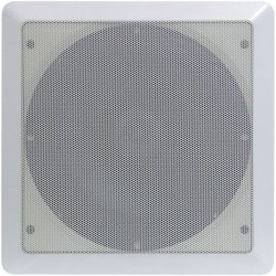 Pyle / Pyle-Pro - PDIC65SQ - Pyle PylePro PDIC65SQ - 200 W PMPO Speaker - 2-way - 2 Pack - White - 8 Ohm - In-wall