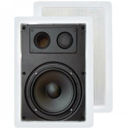 Pyle / Pyle-Pro - PDIW57 - Pyle PDIW57 - 300 W PMPO Speaker - 2-way - 2 Pack - White - 8 Ohm