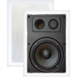 Pyle / Pyle-Pro - PDIW87 - Pyle PDIW87 - 400 W PMPO Speaker - 2-way - 2 Pack - White - 8 Ohm