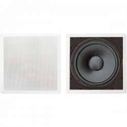 Pyle / Pyle-Pro - PDIWS12 - Pyle PylePro PDIWS12 200 W RMS - 400 W PMPO Woofer - White - 8 Ohm - In-wall, In-ceiling