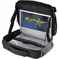 "Case Logic - PDVS-4BLACK - Case Logic PDVS-4 Carrying Case for 7"" Video Player - Black - Nylon - 7.3"" Height x 9.8"" Width x 3.3"" Depth"
