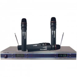 Pyle / Pyle-Pro - PDWM5500 - Pyle PDWM5500 Wireless Microphone System - 210MHz to 280MHz System Frequency