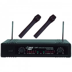 Pyle / Pyle-Pro - PDW-M2600 - Pyle PDWM2600 Professional Microphone System - 710MHz to 850MHz System Frequency