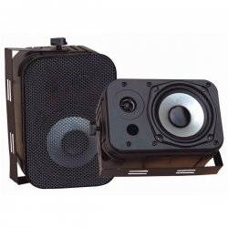 Pyle / Pyle-Pro - PDWR40B - Pyle PylePro PDWR40B Indoor/Outdoor Speaker - 2-way - 2 Pack - 4 Ohm - Wall Mountable
