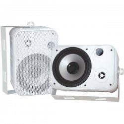 Pyle / Pyle-Pro - PDWR50W - Pyle PylePro PDWR50W Indoor/Outdoor Speaker - 2-way - 2 Pack - White - 4 Ohm