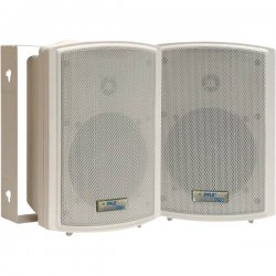 Pyle / Pyle-Pro - PD-WR53 - Pyle PylePro PD-WR53 120 W RMS - 250 W PMPO Indoor/Outdoor Speaker - 2-way - 2 Pack - White - 85 Hz to 20 kHz - 8 Ohm - 92 dB Sensitivity