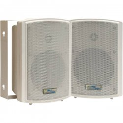 Pyle / Pyle-Pro - PDWR5T - Pyle PylePro PDWR5T 125 W RMS - 250 W PMPO Indoor/Outdoor Speaker - 2-way - 2 Pack - Ivory - 8 Ohm