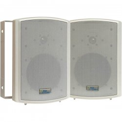 Pyle / Pyle-Pro - PDWR63 - Pyle PylePro PDWR63 150 W RMS - 350 W PMPO Speaker - 2-way - 2 Pack - Ivory - 8 Ohm - Wall Mountable