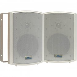 Pyle / Pyle-Pro - PDWR6T - Pyle PylePro PDWR6T 150 W RMS - 350 W PMPO Indoor/Outdoor Speaker - 2-way - 2 Pack - Ivory - 8 Ohm - Wall Mountable