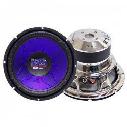 """Pyle / Pyle-Pro - PL-1090BL - Pyle PL-1090BL Woofer - 1000 W PMPO - 1 Pack - 4 Ohm - 10.16"""" Woofer - Automobile"""