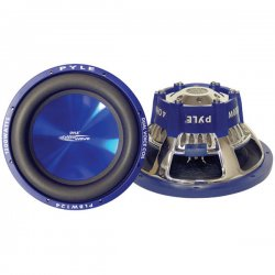 "Pyle / Pyle-Pro - PLBW124 - Pyle Blue Wave PLBW124 Woofer - 1200 W PMPO - 1 Pack - 4 Ohm - 12"" - Automobile"