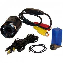 Pyle / Pyle-Pro - PLCM22IR - Pyle PLCM22IR Flush Mount Rear View Camera - Color - CMOS - Cable