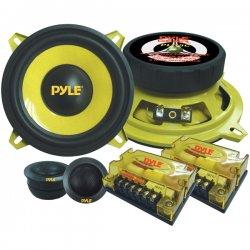 """Pyle / Pyle-Pro - PLG5C - Pyle PLG5C Speaker - 150 W RMS - 300 W PMPO - 2-way - 2 Pack - 22 kHz - 4 Ohm - 5.25"""" - Automobile"""