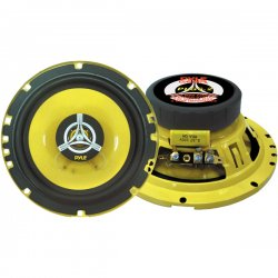"Pyle / Pyle-Pro - PLG6.2 - Pyle PLG6.2 Speaker - 120 W RMS - 240 W PMPO - 2-way - 2 Pack - 4 Ohm - 6.50"" - Automobile"