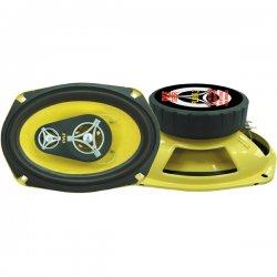 "Pyle / Pyle-Pro - PLG69.3 - Pyle Gear X PLG69.3 Speaker - 180 W RMS - 360 W PMPO - 3-way - 2 Pack - 4 Ohm - 6"" x 9"""