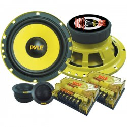 "Pyle / Pyle-Pro - PLG6C - Pyle Gear X PLG6C Speaker - 200 W RMS - 400 W PMPO - 2-way - 2 Pack - 50 Hz to 22 kHz - 4 Ohm - 6.50"" - Automobile"