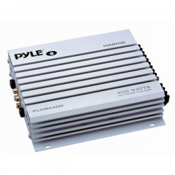 Pyle / Pyle-Pro - PLMR-A400 - Pyle Hydra PLMRA400 Marine Amplifier - 400 W PMPO - 4 Channel - 100 Ohm - 15 Hz to 30 kHz