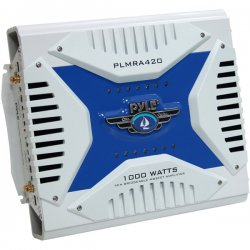 Pyle / Pyle-Pro - PLMRA420 - Pyle Hydra PLMRA420 4-Channel Car amplifier - 4 Channel(s) - 1000W - 95dB SNR