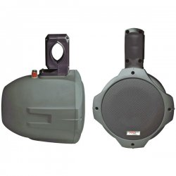 Pyle / Pyle-Pro - PLMRB85 - Pyle PLMRB85 - 300 W PMPO Outdoor Speaker - 2-way - 2 Pack - Black - 60 Hz to 20 kHz - 4 Ohm