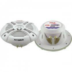 "Pyle / Pyle-Pro - PLMRX67 - Pyle Hydra PLMRX67 Speaker - 250 W PMPO - 2-way - 1 Pack - 65 Hz to 20 kHz - 4 Ohm - 90 dB Sensitivity - 6.50"" - Marine"