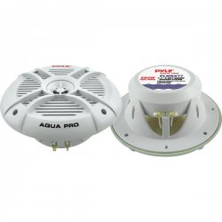 Pyle / Pyle-Pro - PLMRX77 - Pyle Hydra PLMRX77 Speaker - 280 W PMPO - 2-way - 1 Pack - 4 Ohm - 92 dB Sensitivity - 7.70 - Marine