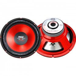 Pyle / Pyle-Pro - PLW-12RD - Pyle PLW-12RD Woofer - 800 W PMPO - 1 Pack - 4 Ohm - Automobile