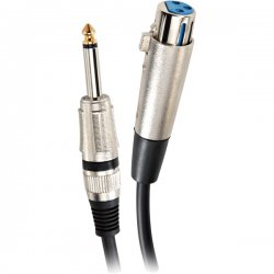 Pyle / Pyle-Pro - PPMJ-L30 - Pyle Professional Microphone Cable - XLR Female - Phono Male - 30ft
