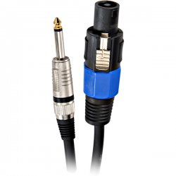 Pyle / Pyle-Pro - PPSJ-15 - Pyle PylePro Professional Speaker Cable - Speakon - Phono - 15ft