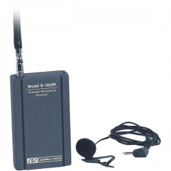 AmpliVox - S1600 - AmpliVox S1600 Wireless Leapel Microphone System Kit - 171.1MHz, 171.85MHz System Frequency