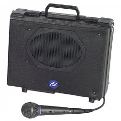 AmpliVox - S222 - Audio Portable Buddy Professional PA System w/Pro Wired Mic & 15-ft. Cable