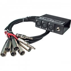 Hosa - SH 6x2 50 - Hosa SH Snake XLR Cable - XLR Male Audio