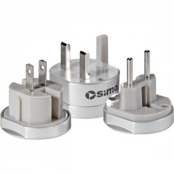 Sima Products - SIP-3 - Sima SIP-3 Portable Plug Set for International Travel