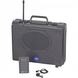AmpliVox - SW222 - Wireless Audio Portable Buddy Professional Group Broadcast PA System