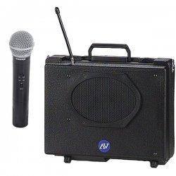 AmpliVox - SW223 - Handheld Audio Portable Buddy 50w Amp Uhf Spkr Wl Handheld Mic
