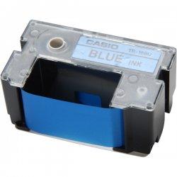 Casio - TR-18BU - Casio TR-18BU Blue Ribbon Cartridge - Thermal Transfer - 1 Pack