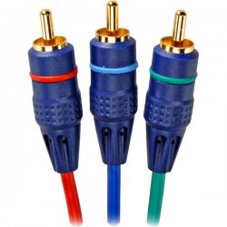 RCA - VHC61R - RCA(R) VHC61R Component Video Cable, 6ft