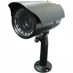 Speco - VL-66 - Speco VL-66 Weatherproof DSP Bullet Camera - Black - Color, Black & White - CCD - Cable