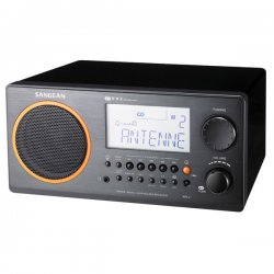 Sangean - WR-2 BLACK - Sangean WR-2 Digital AM/FM Table Top Radio - 5 x AM, 5 x FM Presets