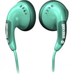 Maxell - 190543 - Maxell Color Buds Stereo Earphone - Wired Connectivity - Stereo - Earbud - Green