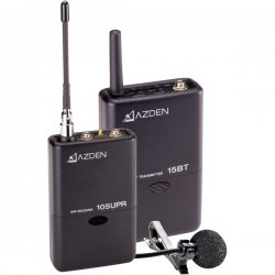 Azden - 105LT - Azden 105LT Wireless Microphone System - 566.25MHz to 589.75MHz System Frequency