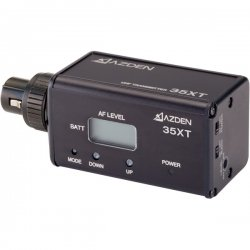 Azden - 35XT - Azden 35XT Wireless Microphone Plug-In Transmitter - 589.88MHz Transmitter Frequency