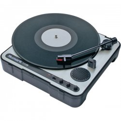 Numark - PT01USB - Numark PT-01USB Record Turntable - Belt Drive