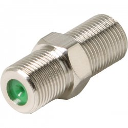 Steren Electronics - 200-059 - Steren F Premium Adapter - 1 x F Connector Female - 1 x F Connector Female